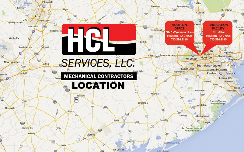 Hcl Mechanical Services Llc 187 Our Locations